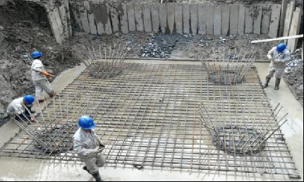 配合崧泽高架西延伸工程搬迁灌注桩项目