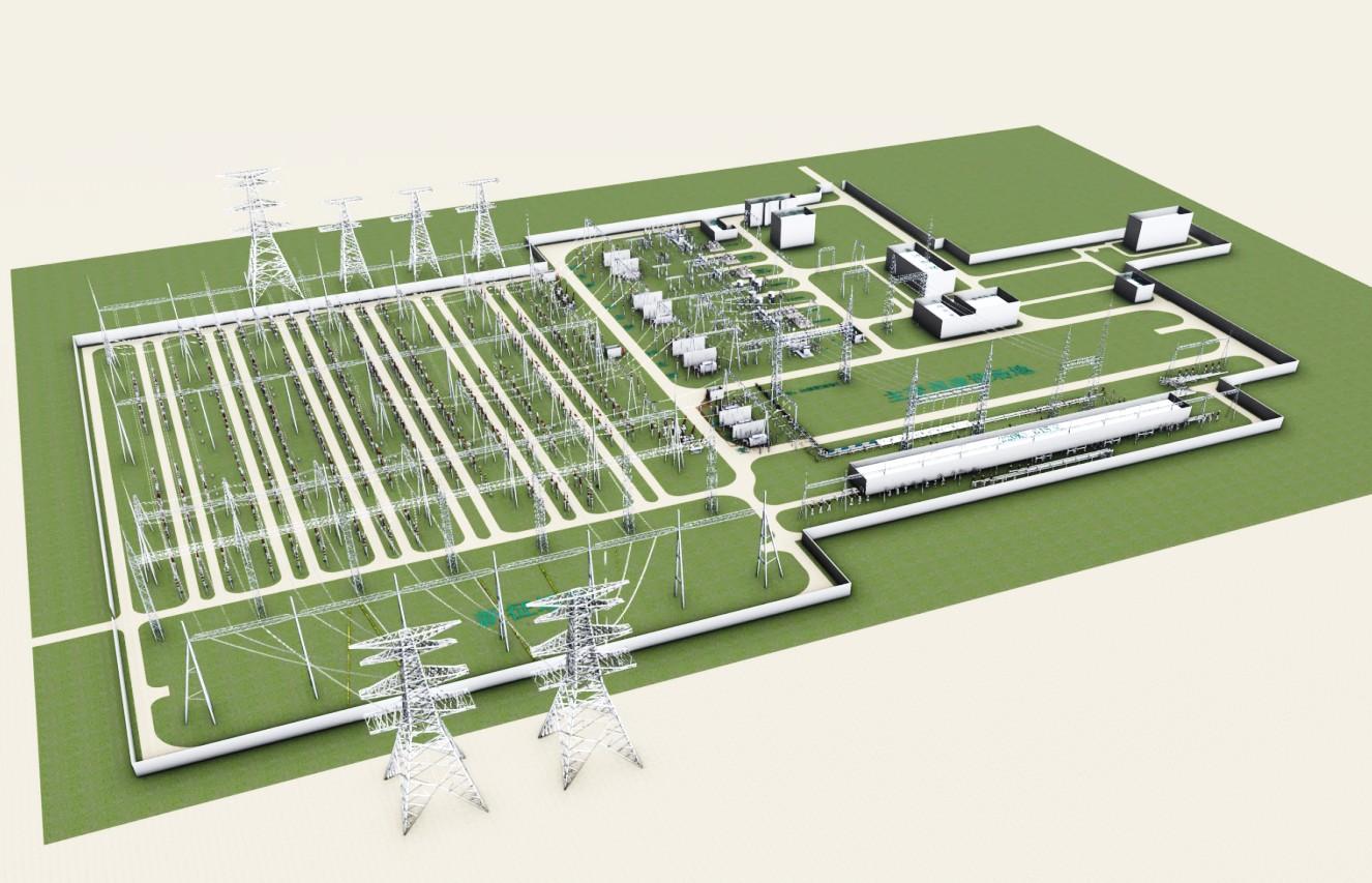 500千伏变电站主变增容及配电装置改造工程